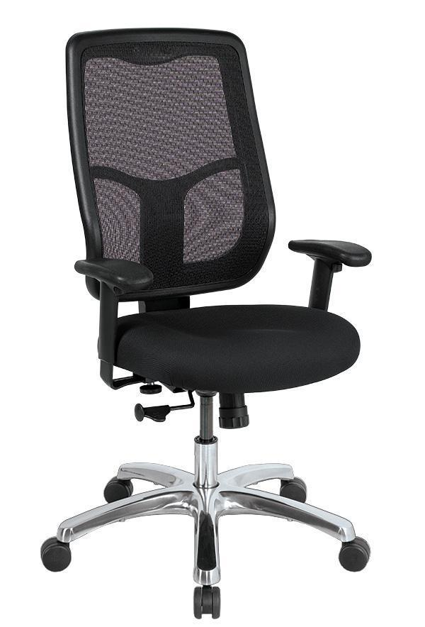 Eurotech Office Chair BLACK MESH / None Eurotech apollo high-back with ratchet back