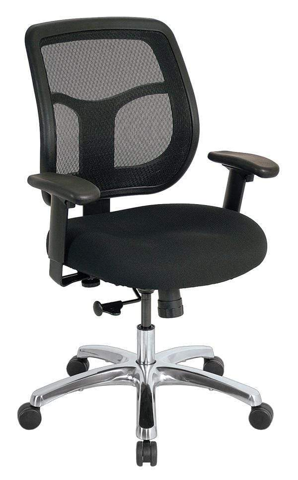 Eurotech Office Chair Black / None Eurotech apollo mid-back