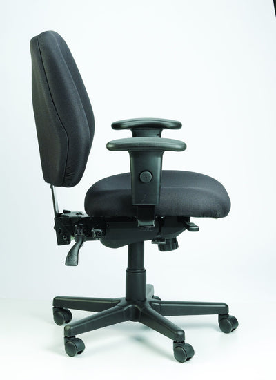 Eurotech Office Chair Charcoal Eurotech 4x4 Chair 49802A
