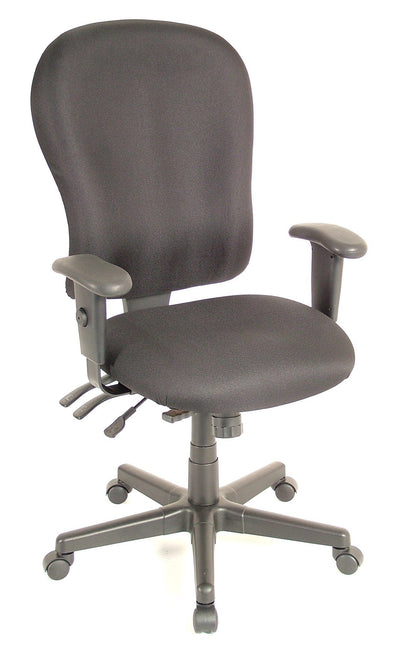 Eurotech Office Chair Charcoal Eurotech 4x4xl Chair