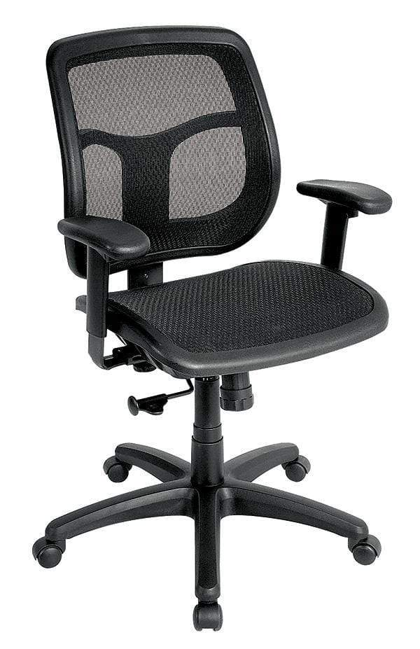 Eurotech Office Chair None Eurotech apollo mesh seat & back