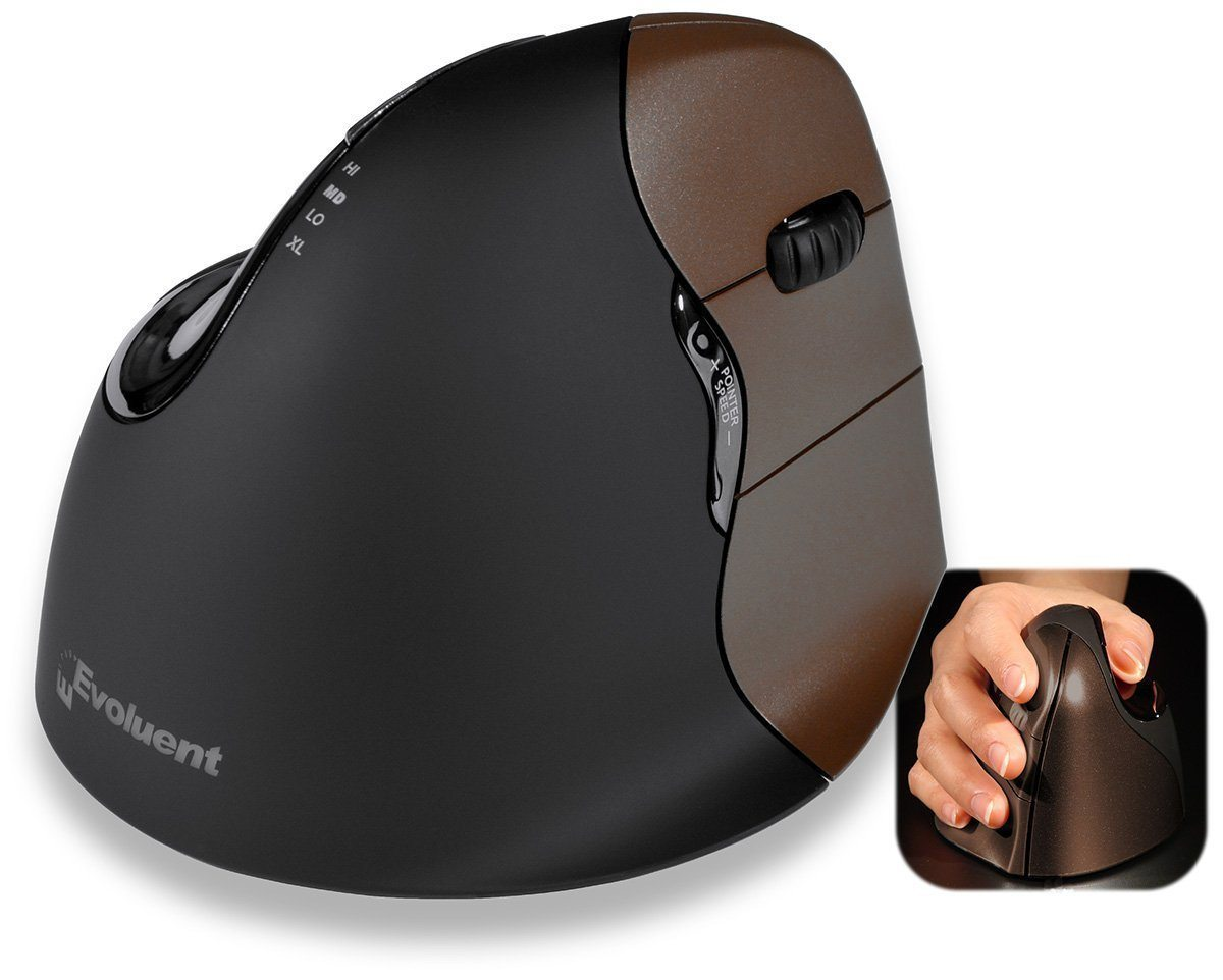 Evoluent Mouse Evoluent VerticalMouse 4 Small Wireless