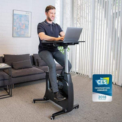 FlexiSpot Desk Bike V9 / Black FlexiSpot All-in-One Desk Bikes – Deskcise Pro™ V9 / V9U