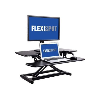 FlexiSpot Desk Riser 35 INCH / BLACK FlexiSpot AlcoveRiser M7 Standing Desk 28″ / 35″