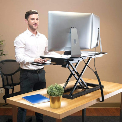 FlexiSpot Desk Riser FlexiSpot Motorized Electric Standing Desk EM7MB - 36""