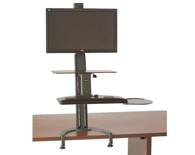 HealthPostures Assisted Lift Standing Desks HealthPostures 6300 TaskMate Go Standing Desk