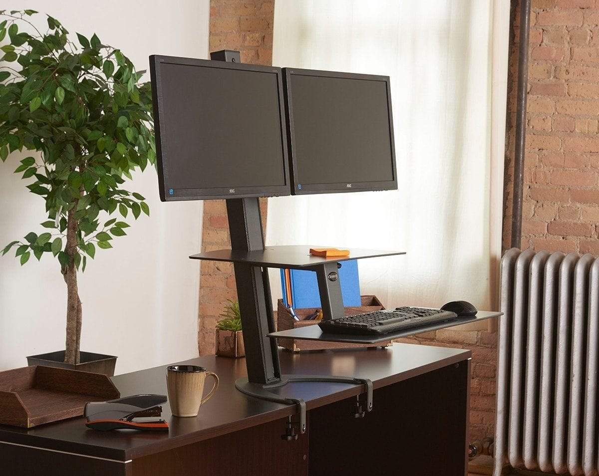HealthPostures Assisted Lift Standing Desks HealthPostures 6352 TaskMate Go