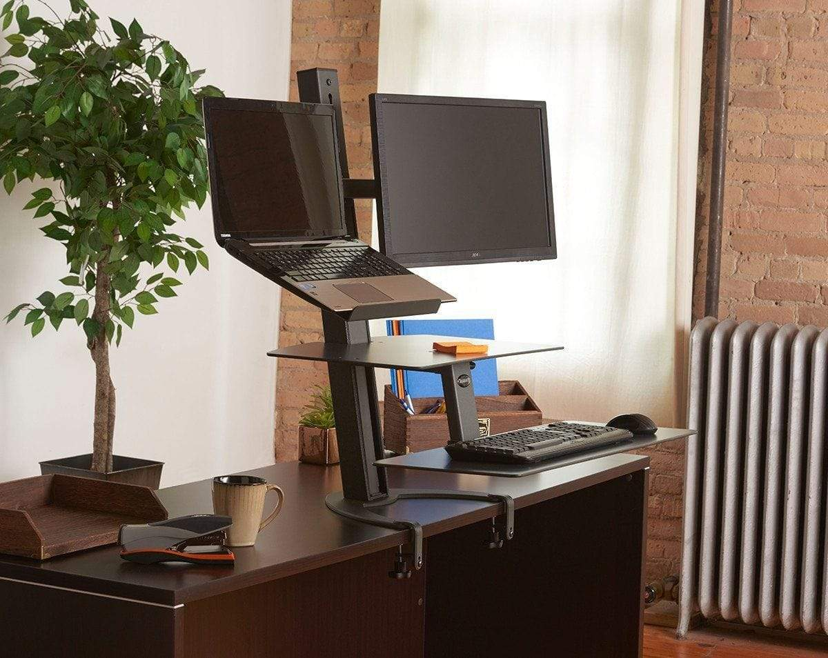 HealthPostures Assisted Lift Standing Desks HealthPostures 6362 TaskMate Go