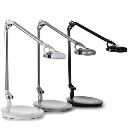 Humanscale Desk Lamp Desktop Base / White Humanscale Element 790 Task Light