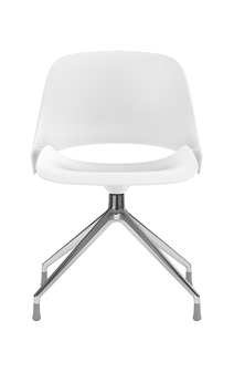 Humanscale Ergonomic Chair Four Star / Polished Aluminum Humanscale TREA Ergonomic Office Chair