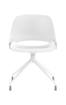 Humanscale Ergonomic Chair Four Star / White Powder Coat Humanscale TREA Ergonomic Office Chair