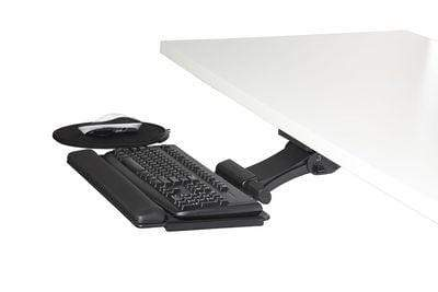 "Humanscale Keyboard Platform 8"" Swivel Mouse Right / 19"" Foam with Synthetic Leather Cover / 11"" Humanscale 6G System with 900 Board and Swivel Mouse"