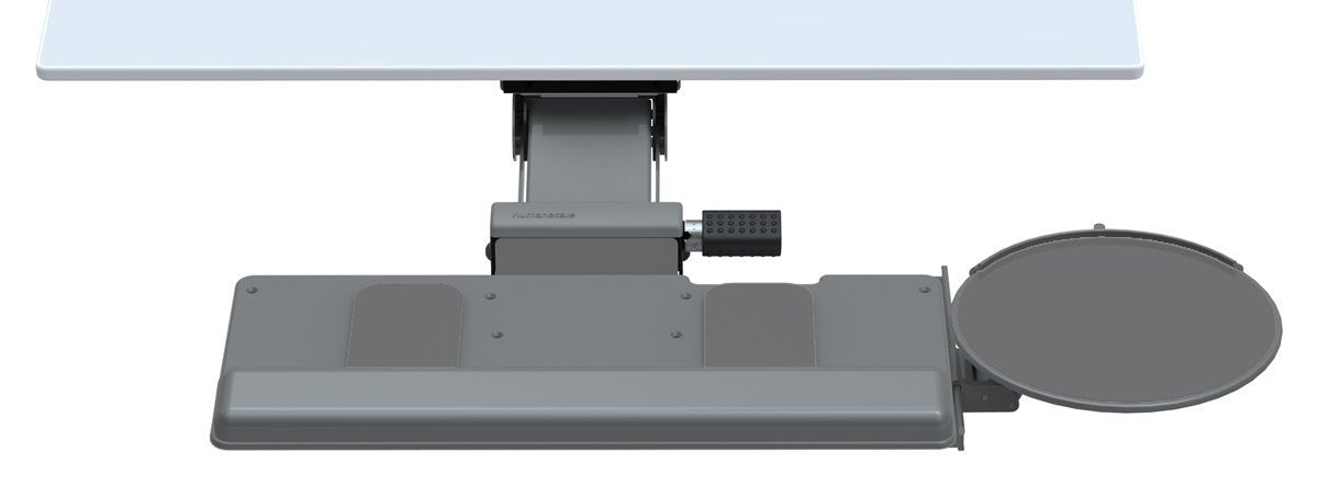 Humanscale 5G Under Desk Keyboard Trays System With Clip Mouse Tray    Jestik, Inc.