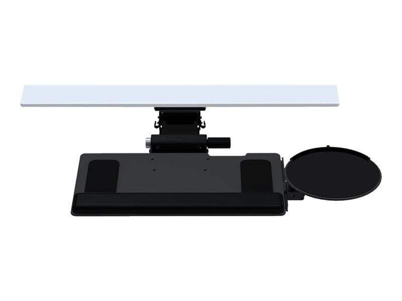 "Humanscale Keyboard Platform Black / 11"" / 19 inch Foam with Synthetic Leather Cover Humanscale 6G System with 900 Board and High Clip Mouse"