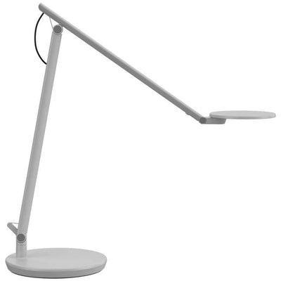 Humanscale Lighting Nova Task Light Extended Arms / Desktop Base / Light Gray Humanscale NOVA TASK LIGHT