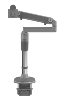 "Humanscale Monitor Arm 12"" (1 MONITOR) / SILVER Humanscale M/FLEX"