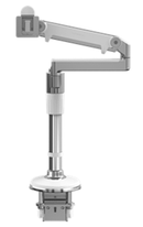 "Humanscale Monitor Arm 12"" (1 MONITOR) / WHITE Humanscale M/FLEX"