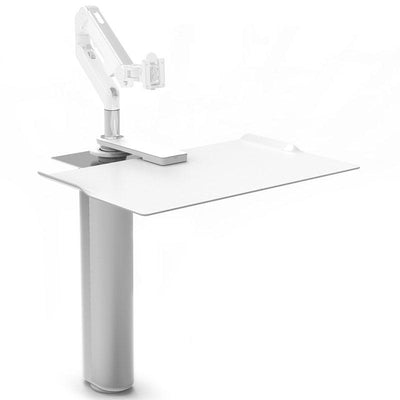 "Humanscale Under Desk Black / Single Monitor Mount (5"" of manual adjustment) Humanscale QUICKSTAND UNDER DESK"