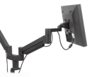 Innovative Dual Monitor Arm 2-13 lbs / Flat White Innovative 7000-8408 – Dual Monitor Arm