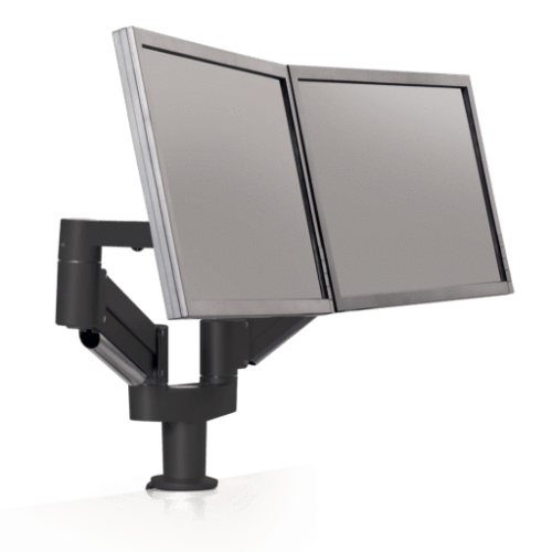 Innovative Dual Monitor Arm 2-13 lbs / Vista Black Innovative 7000-8408 – Dual Monitor Arm