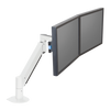 Innovative Dual Monitor Arm 7500-Wing-1000 1-11.4 lbs / White Innovative Dual Monitor Arm 7500-Wing – Deluxe Dual Monitor Arm