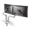 Innovative Dual Monitor Arm Flat White Innovative Dual EVO – Dual Monitor Arm