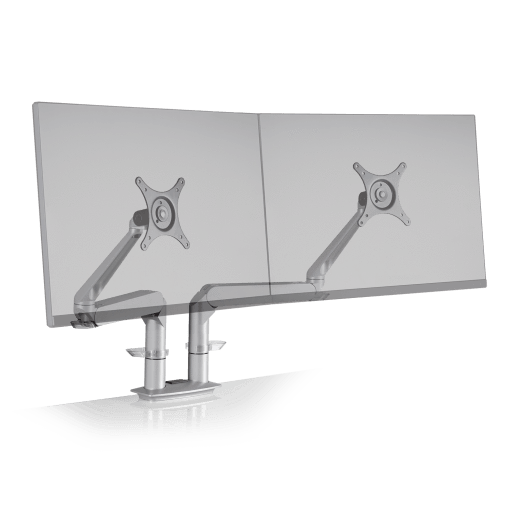 Innovative Dual Monitor Arm Silver Innovative Dual EVO – Dual Monitor Arm