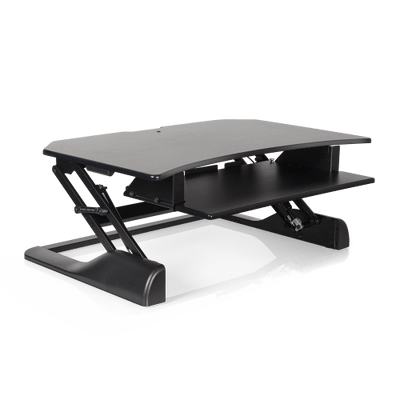 "Innovative Keyboard and Mouse Desk Corner-36"" / Black Innovative Winston Desk"
