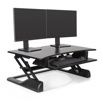 "Innovative Keyboard and Mouse Desk Desk-36"" / Black Innovative Winston Desk"