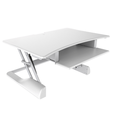 "Innovative Keyboard and Mouse Desk Desk-36"" / White Innovative Winston Desk"
