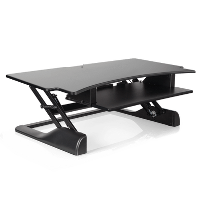 "Innovative Keyboard and Mouse Desk Desk-42"" / Black Innovative Winston Desk"
