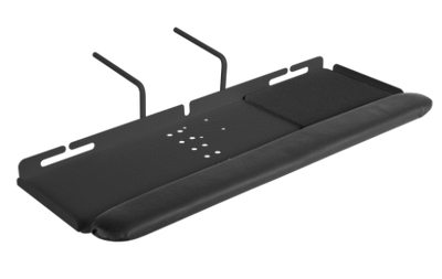 Innovative Keyboard Tray Black Innovative 8138 – Left- or Right-handed Keyboard Platform