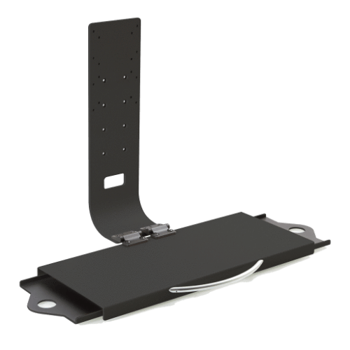 Innovative Keyboard Tray / Monitor Holder Black Innovative Model 8209 – Flip-Up Keyboard Tray / Monitor Holder