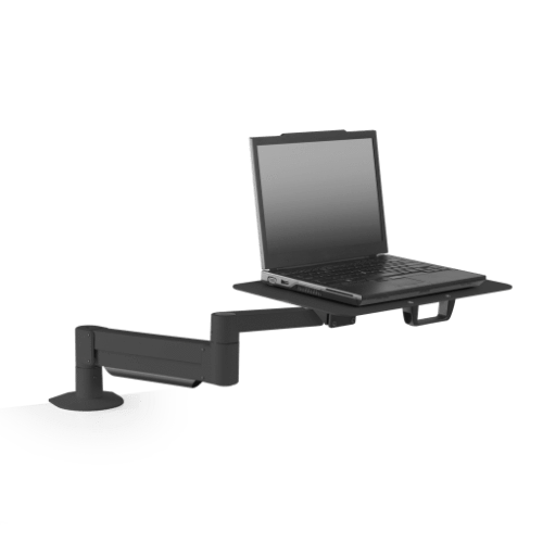 Innovative Laptop Stand 1 – 12 lb laptop / Black Innovative 7011-8252 – Height Adjustable Laptop Stand with Oversize Notebook Tray