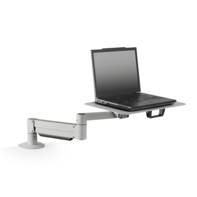 Innovative Laptop Stand 1 – 12 lb laptop / Silver Innovative 7011-8252 – Height Adjustable Laptop Stand with Oversize Notebook Tray