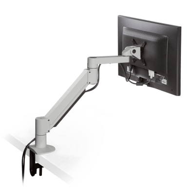 Innovative Monitor Arm Flat White / 2 – 13 lbs Innovative 7000 – Articulating Monitor Arm