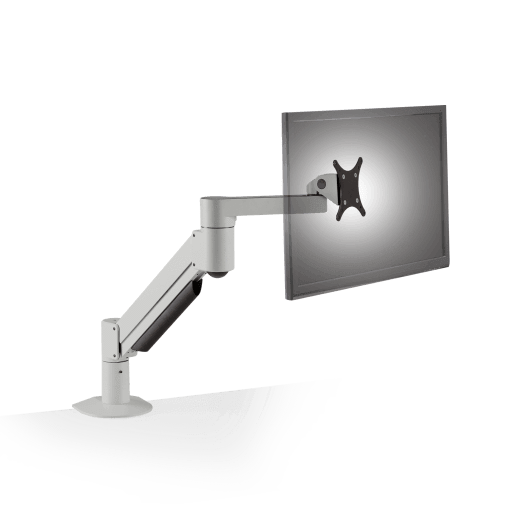 Innovative Monitor Arm Silver / 2 – 13 lb monitor Innovative 7500 Heavy Duty Deluxe Single Monitor Arm