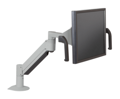 Innovative Monitor Arm Silver Innovative 7516 – Monitor Arm with Handled Brackets