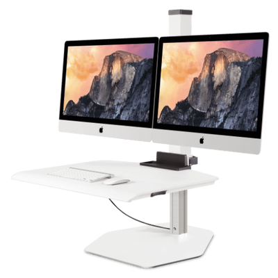 Innovative Monitor Arm VESA Dual / White Innovative Winston Workstation for Apple iMac