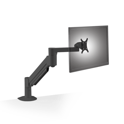 Innovative Monitor Arm Vista Black / 2 – 13 lb monitor Innovative 7500 Heavy Duty Deluxe Single Monitor Arm