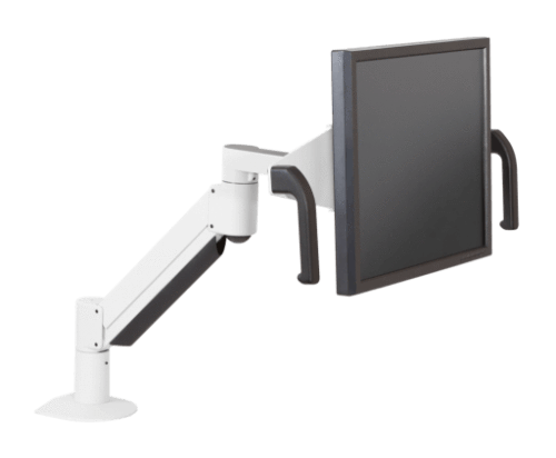 Innovative Monitor Arm White Innovative 7516 – Monitor Arm with Handled Brackets