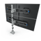 Innovative Monitor Mount Silver Innovative 9136-Switch-D-FM – Two-Tier Quad Monitor Mount