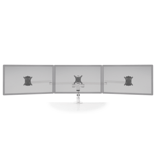 Innovative Monitor Mount White Innovative STX-03W – Staxx™ Triple Monitor Mount – Wide
