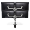 Innovative Monitor Mount White Innovative STX-22S – Staxx™ 2 Over 2 Monitor Mount – Standard