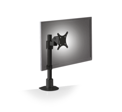 Innovative Pole Mount Black Innovative 9136-S-FM – Adjustable Monitor Pole Mount