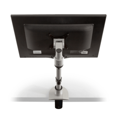 Innovative Pole Mount Silver Innovative 9136-S-FM – Adjustable Monitor Pole Mount