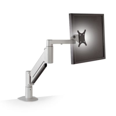 Innovative Single Monitor Arm 9105-500-FM / Flat White Innovative 9105-FM – Heavy Duty Desktop Monitor Arm