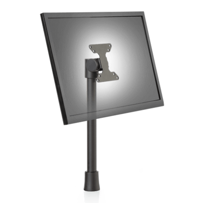"Innovative Single Monitor Pole Mount Thru-desk (up to 1.8"" of desktop thickness) Innovative 9232 Monitor Pole Mount"