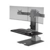 Innovative Workstation Monitor Mounts Dual Compact Innovative Winston-E Sit-Stand Workstation Single, Dual, And Triple