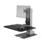 Innovative Workstation Monitor Mounts Single Innovative Winston-E Sit-Stand Workstation Single, Dual, And Triple